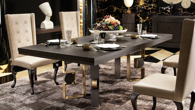 dining tables dining tables The perfect dining tables to set the mood for 2019 SMANIA RODRIGO RECTANGULAR DINING TABLE