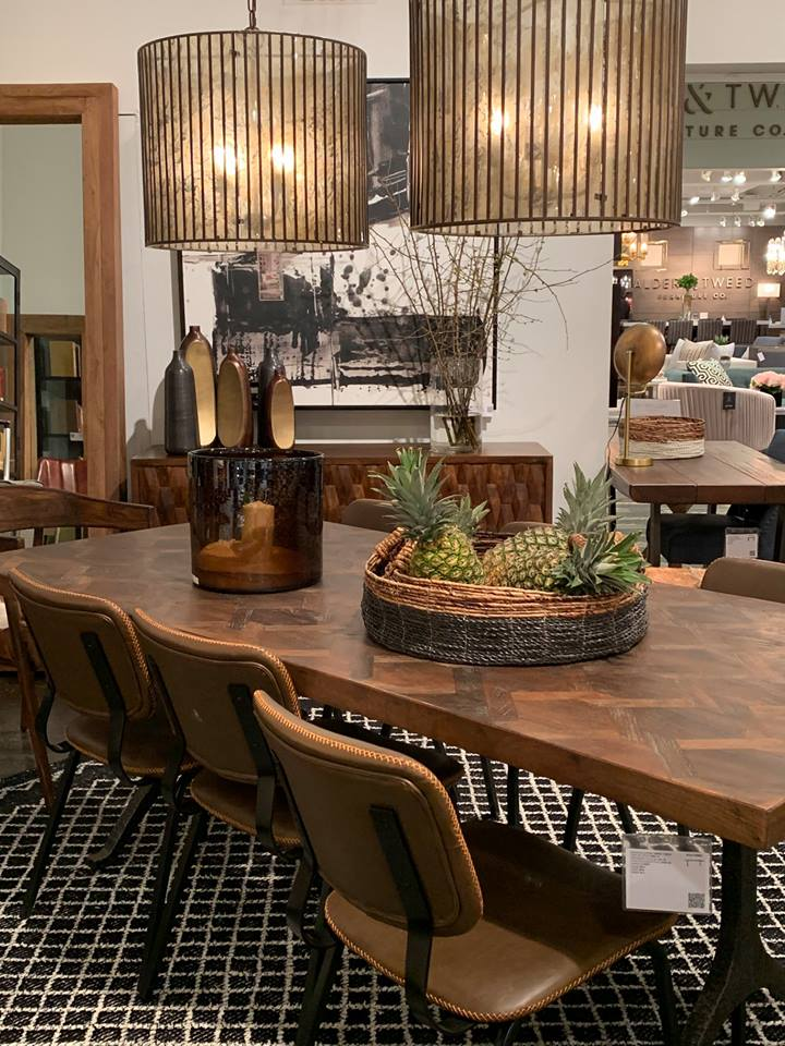 Las Vegas Winter Market 2019 The Best Dining and Living Room Design at Las Vegas Winter Market 2019 Dovetail Furniture 3