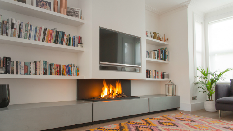 Modern Fireplaces Modern Fireplaces Heat Up This Winter Season with These Modern Fireplaces Heat Up This Winter Season with These Modern Fireplaces 10 1