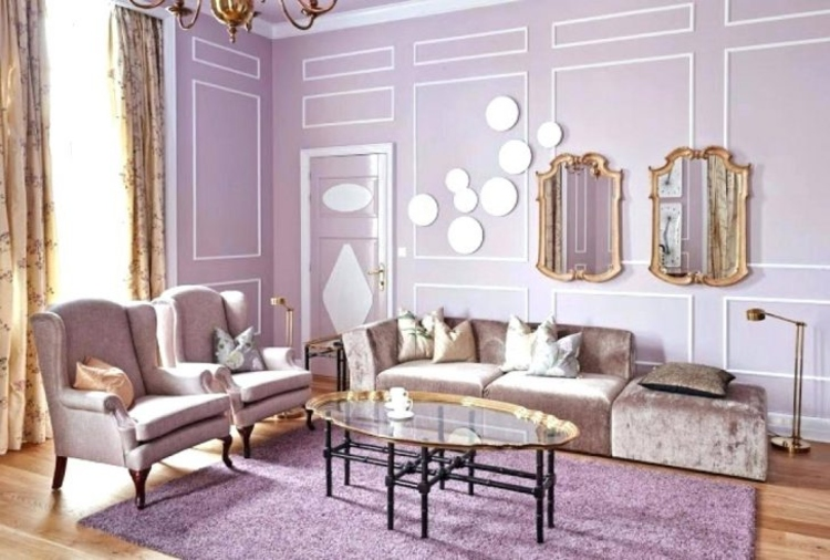 london fashion week The London Fashion Week Colors in Your Dining and Living Room light purple living room ideas winsome beautiful lavender with romantic nuance and airy tones livi 728x491