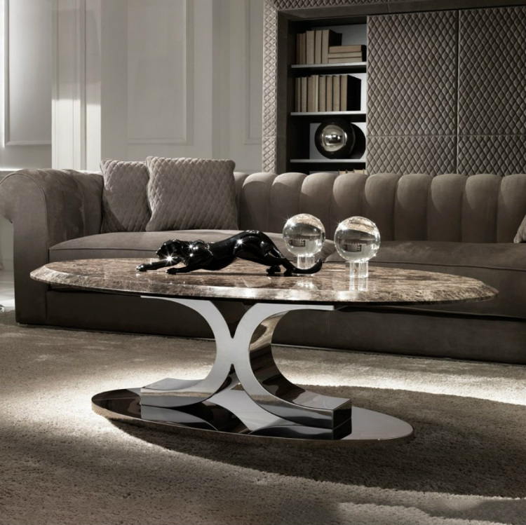 2019 interior design trends 2019 Interior Design Trends to Turn a Space in a Sensorial Experience luxury coffee tables 3 marble table 1 pictures contemporary italian oval 1028x1026