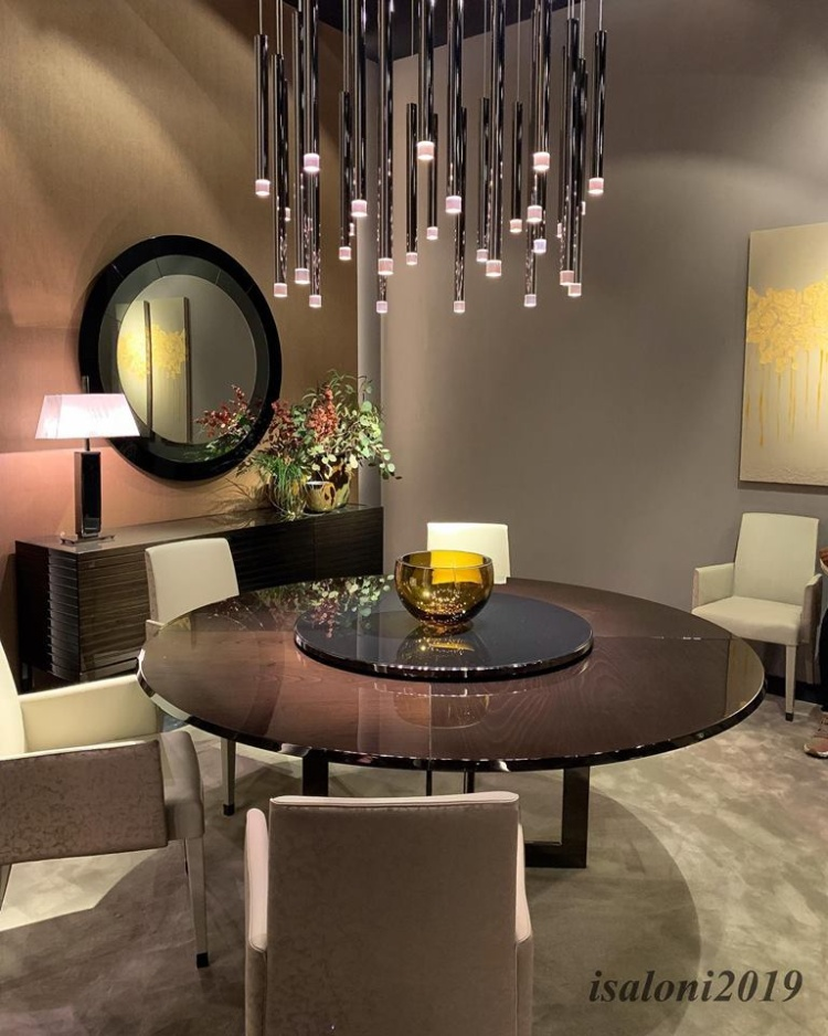 iSaloni 2019 isaloni 2019 iSaloni 2019: The Best Ideas for Dining and Living Rooms theodore alexander