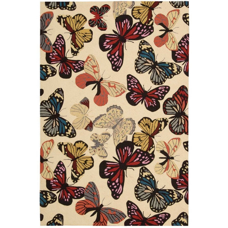 Contemporary Rugs  contemporary rugs The Most Dazzling Contemporary Rugs for Your Living Room Decor Cinderford Hand Hooked Multi Coloured Area Rug by Brambly Cottage