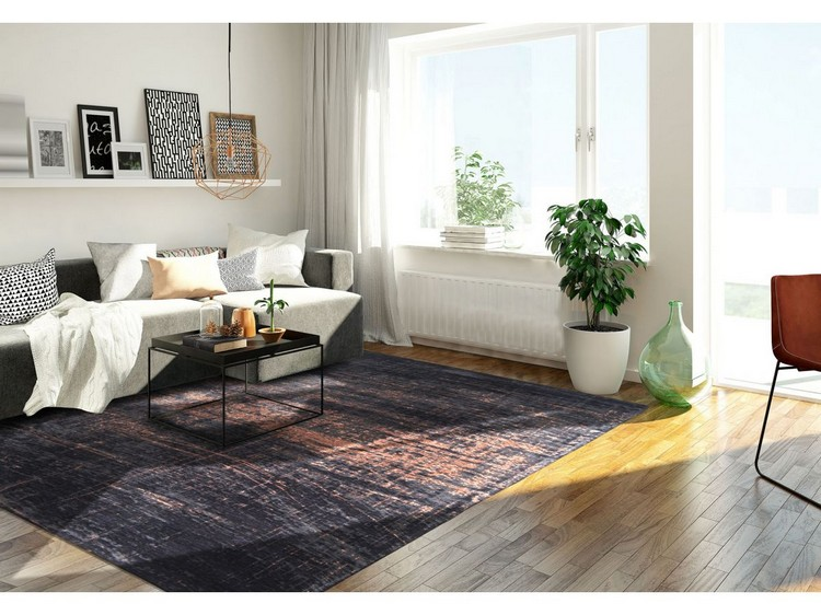contemporary rugs The Most Dazzling Contemporary Rugs for Your Living Room Decor dywan soho copper 60x90cm 3